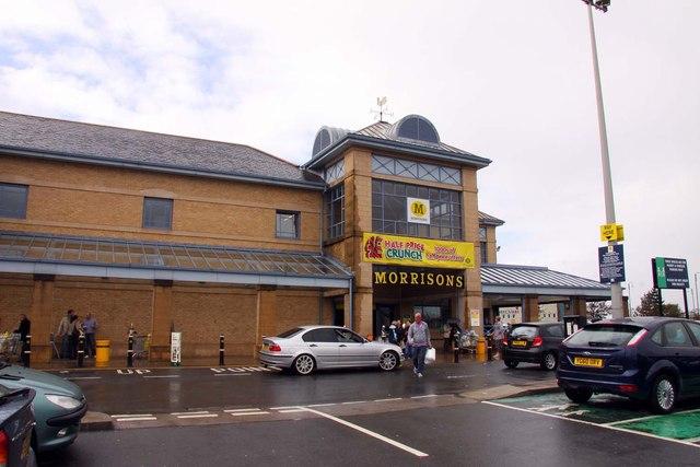 Morrisons supermarket in Morecambe