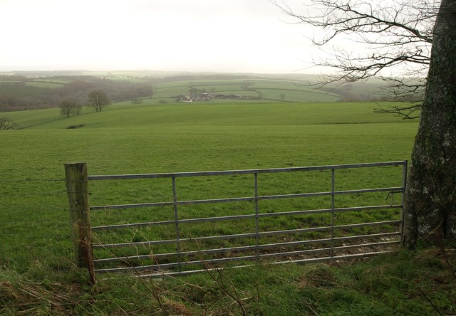 Towards Wadland Barton