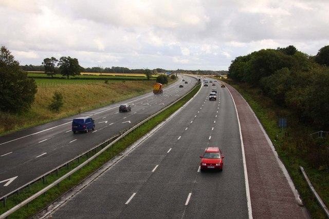 The M6 looking south