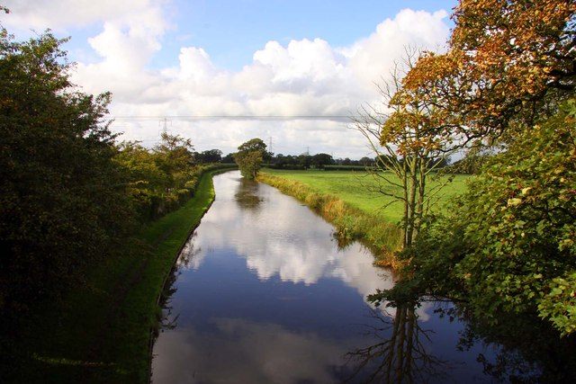 The Lancaster Canal looking north