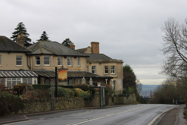 The Rising Sun Hotel on Cleeve Hill
