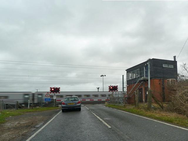 Everton Crossing on Tempsford Road, near Everton