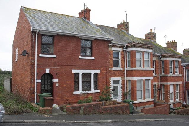 Houses on St Martin's Road