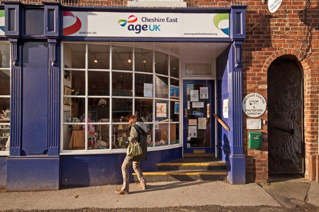 Age UK Charity Shop, Kings Street, Knutsford