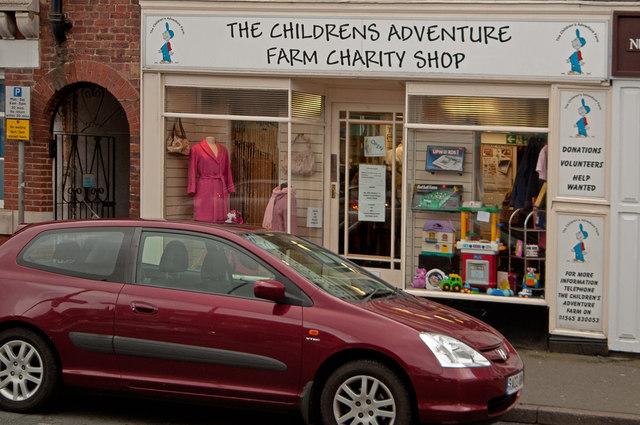 The Children's Adventure Farm Charity Shop, Knutsford