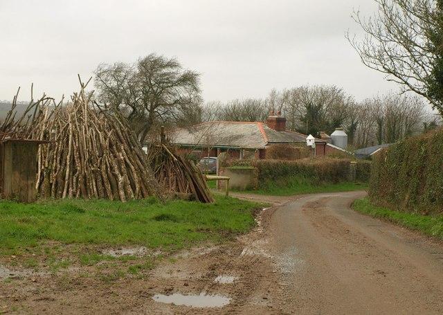 Farm bungalow at Cruft