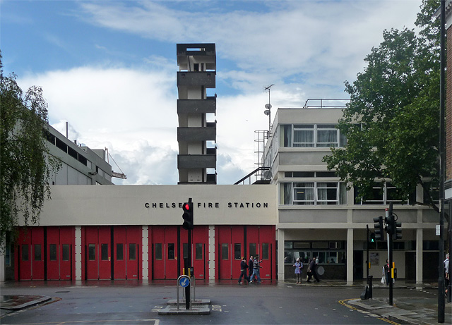 Chelsea Fire Station, King's Road