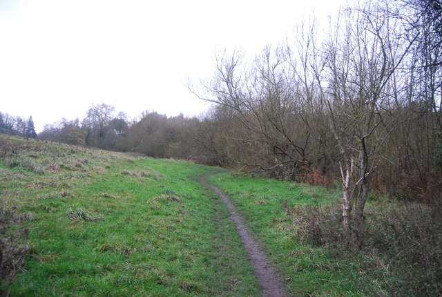 Footpath in the Loose Valley