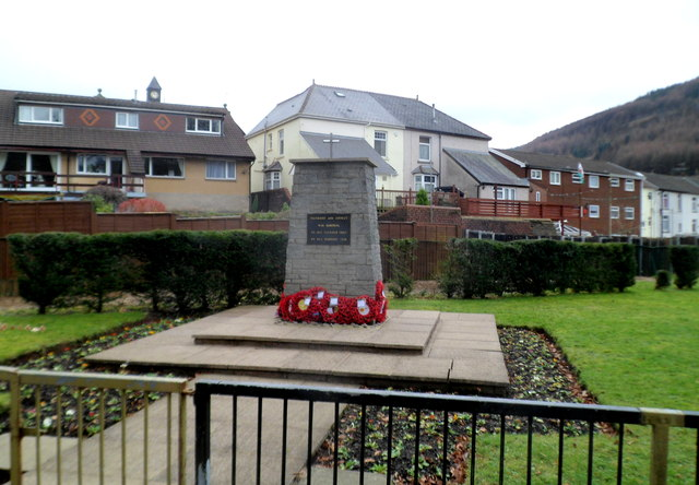 Treherbert and District War Memorial