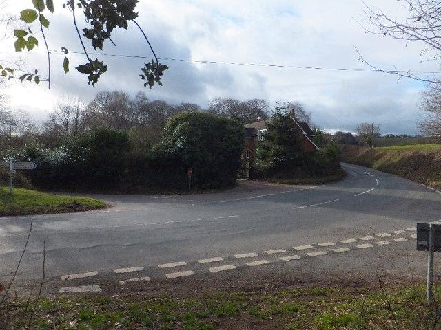 Black Forest Lodge crossroads