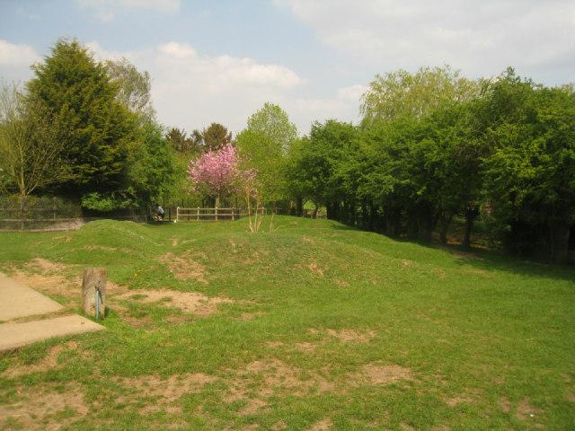 Animal enclosure - Linton Zoo