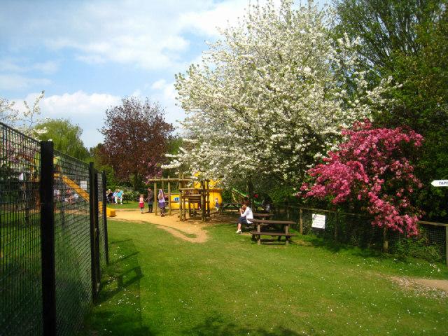 Play area - Linton Zoo