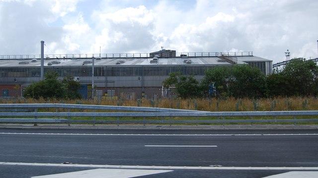 The Alstrom Works at Polmadie