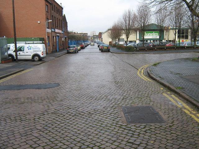 The Last Cobbled Street in Brum?