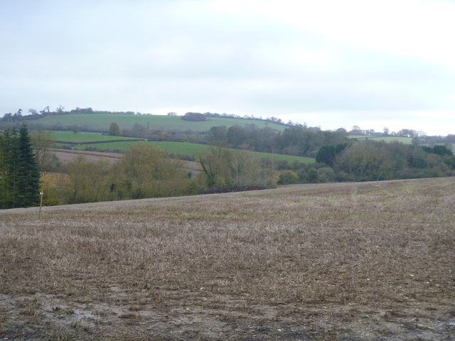 View to Whichford Hill