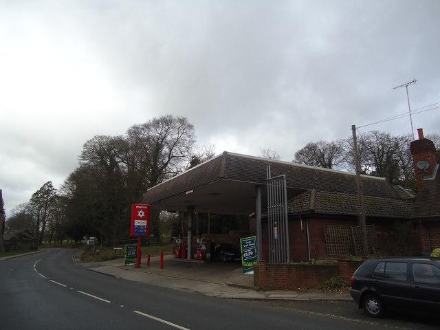 Petrol station, Gomshall