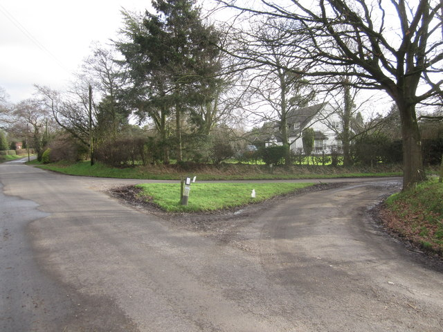 Chelford Road/Moss Lane junction Siddington