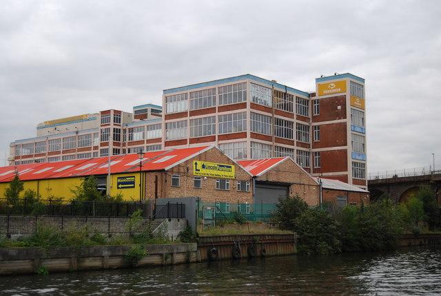 Riverside buildings, Maidstone