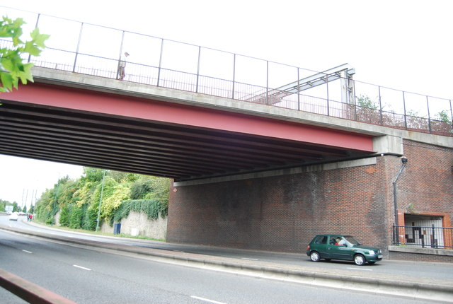Maidstone East Line over the A229
