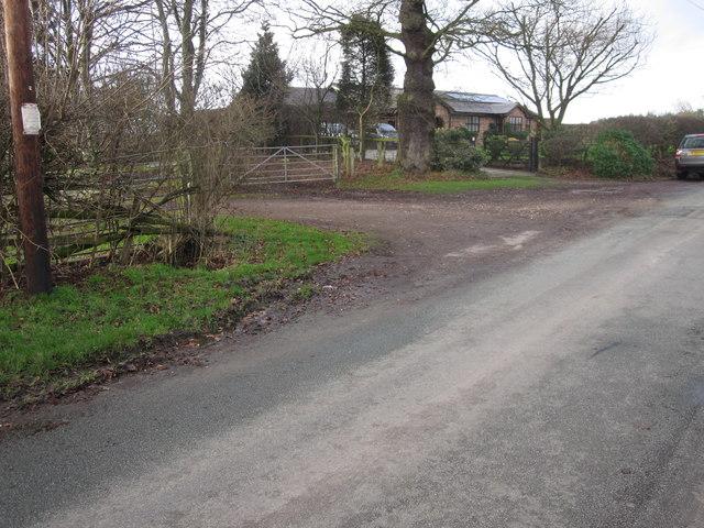 Bungalow at Piggotts Hill Congleton Lane