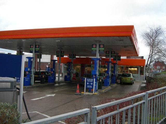Sainsbury's Petrol Station