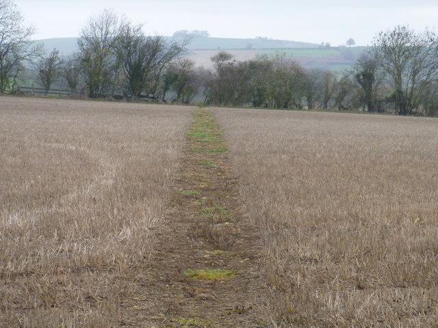 Towards Leys Farm