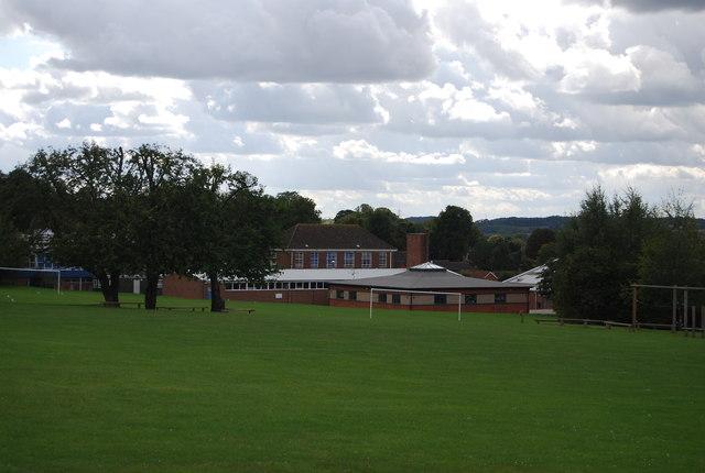 View towards Claydon High School