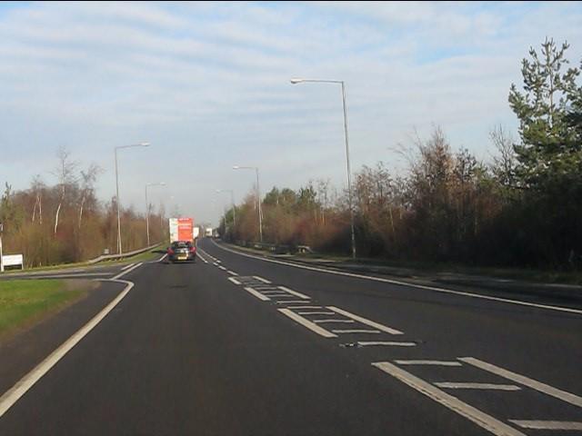 A49 at Grange Lane