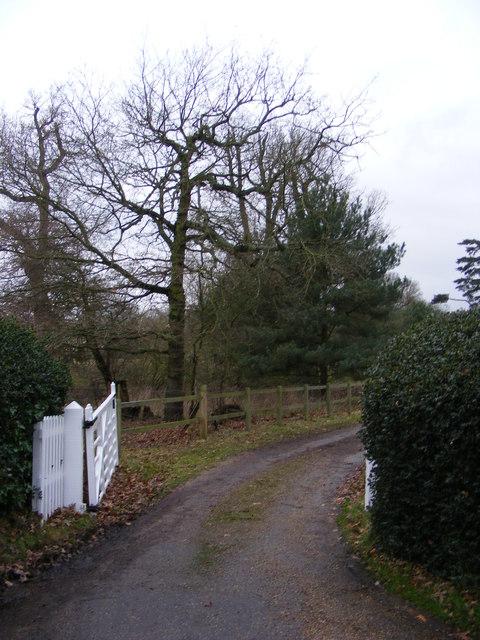 The entrance to Glemham House