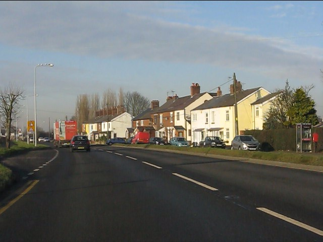 A49 at Sandycroft