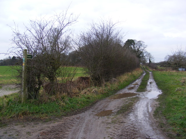 Footpath to Chapel Lane