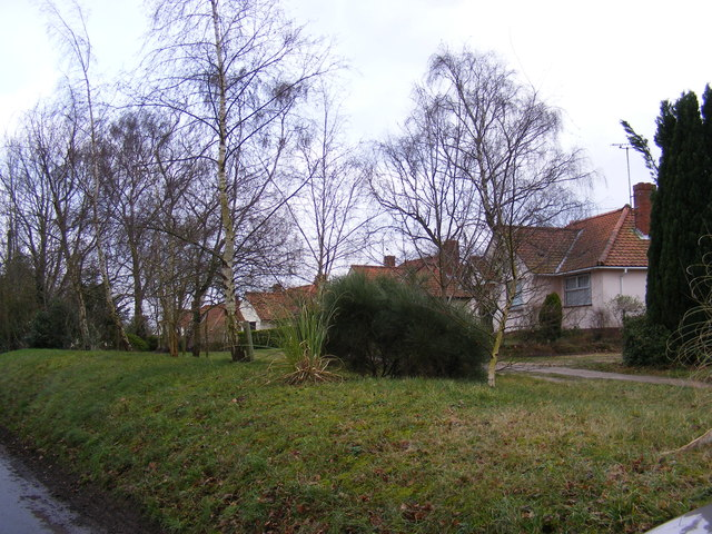 Bungalows off Glemham Road
