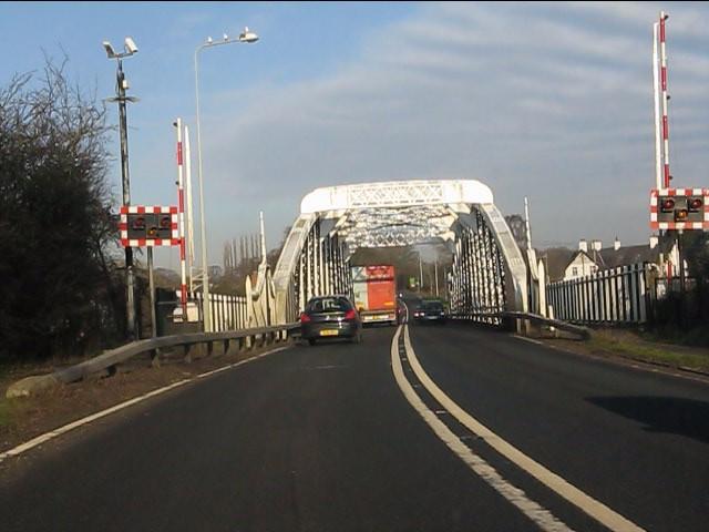 Weaver Navigation swing bridge, A49