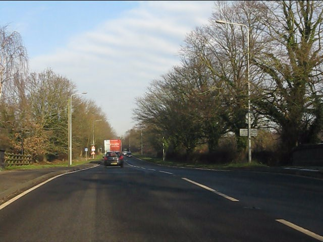 A49 at the canal bridge