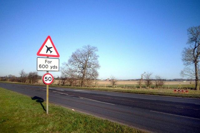 Aircraft Warning, Preston Crowmarsh