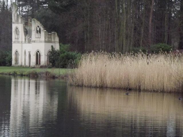 Abbey by The Lake