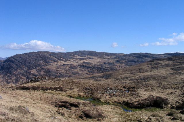 North ridge of Corra Bheinn