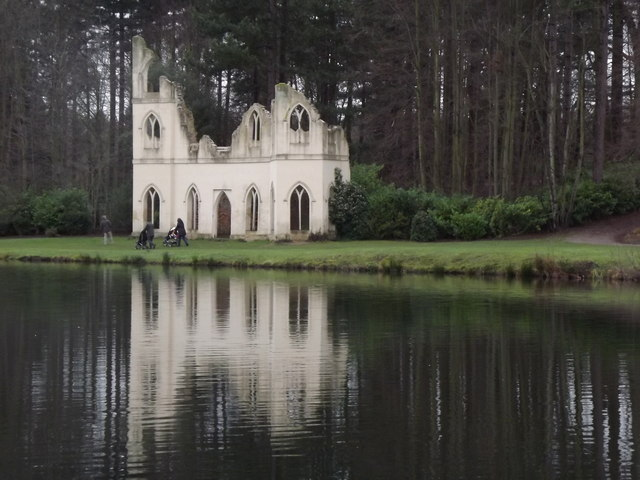 Abbey Ruins, Painshill