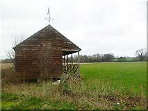 ST9102 : Spetisbury, cricket pavilion by Mike Faherty
