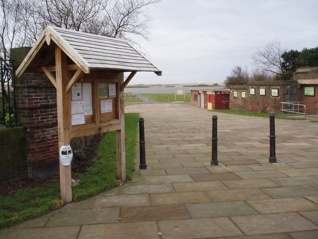 Crosby Coastal Park entrance, South Road.