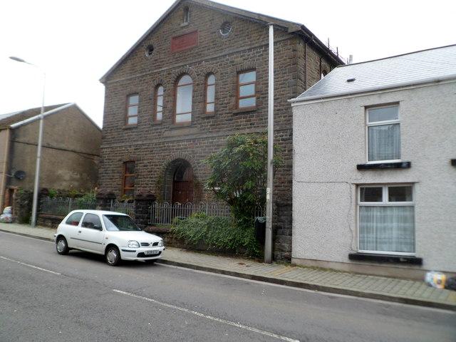 Former Ebenezer chapel, Tynewydd