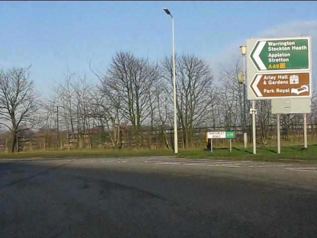 Warrington this way