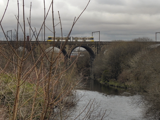 River Irwell, Radcliffe Viaduct