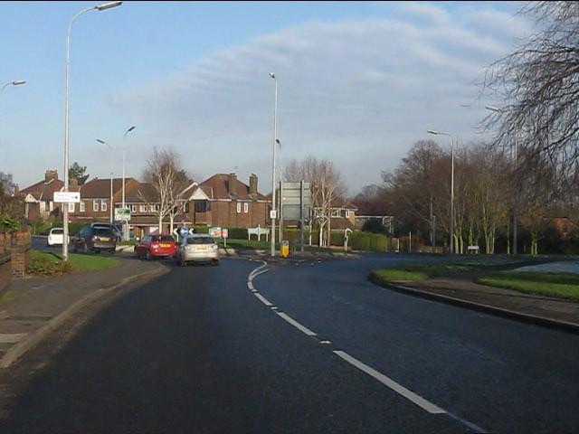 Longwood Road roundabout