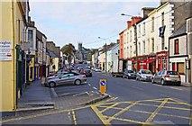 R1388 : Main Street leading into Church Street, Ennistymon by P L Chadwick