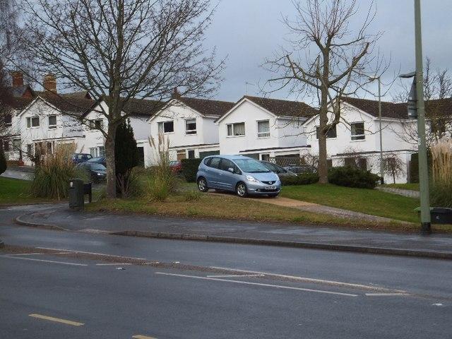 Modern houses in Kenton