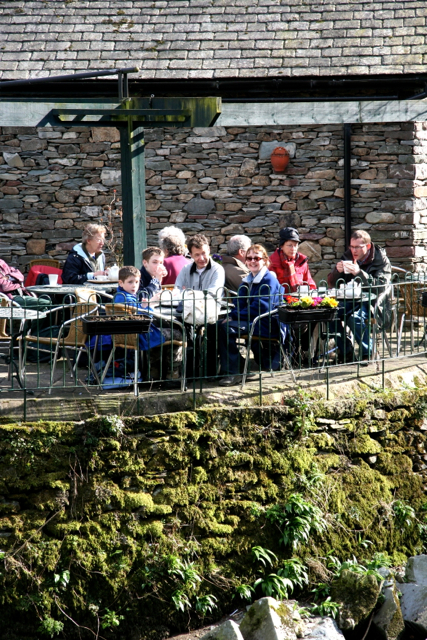 The Rowan Tree riverside tea house Grasmere