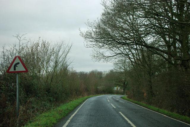 Bend on Ripley Road