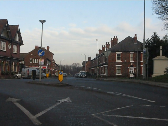 Ellesmere Road from Chester Road