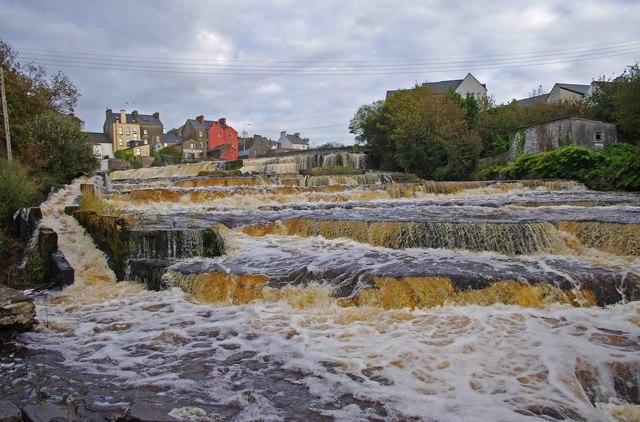 The Cascades on the River Inagh, Ennistymon